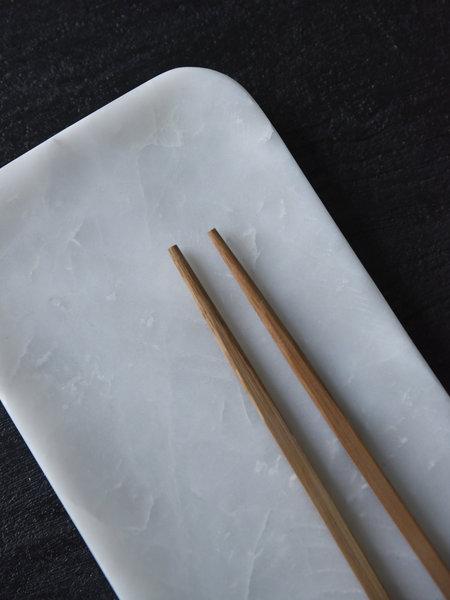 HKliving Marble Tray White