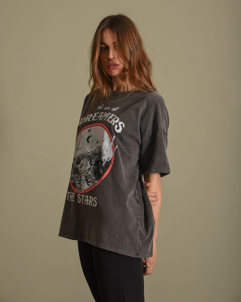 Dreaming Tee Black Wash