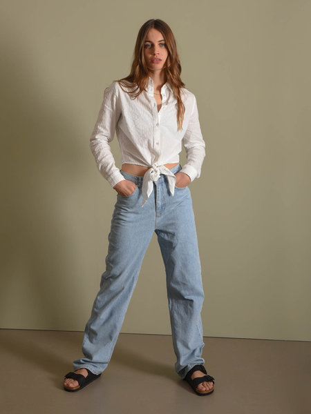 NAKD Wide Leg High Waisted Denim