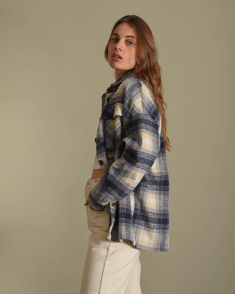 Caroline Jacket Blue Check