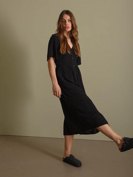 Noisy May Fiona 2/4 Calf Dress Sp Black