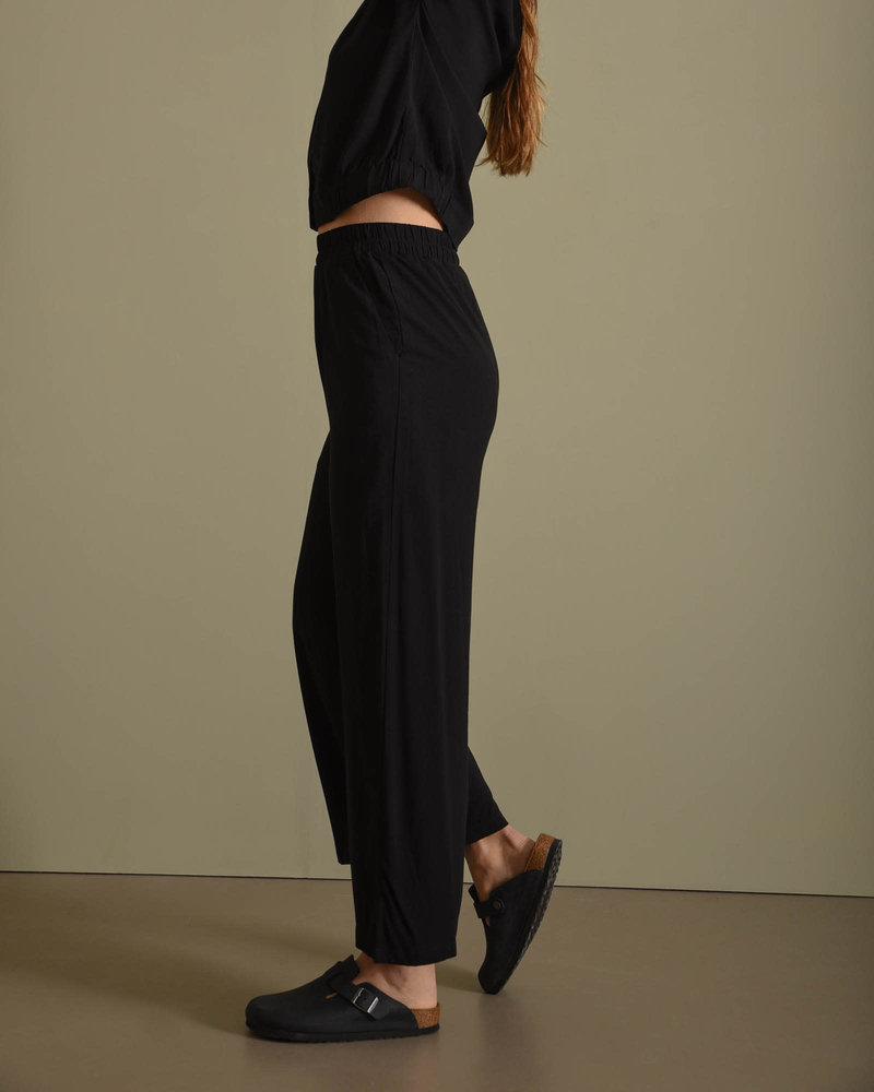 Fiona Hw Pants Sp Black