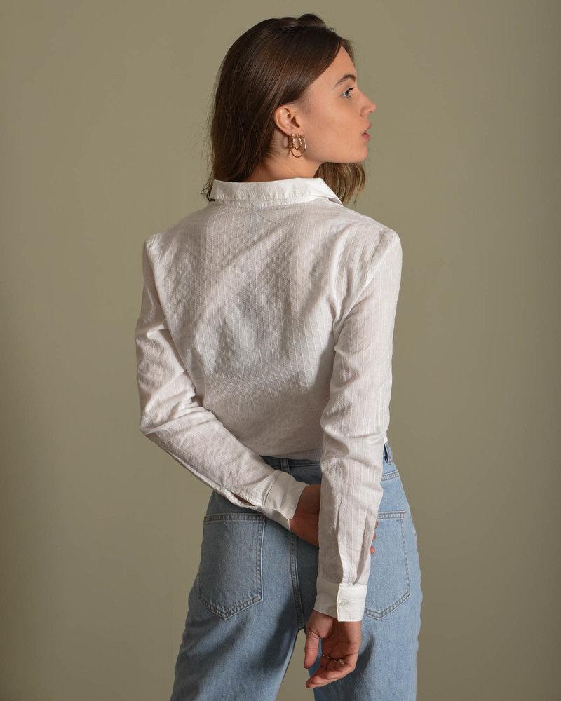 Strilla LS Shirt Icon S. Bright White