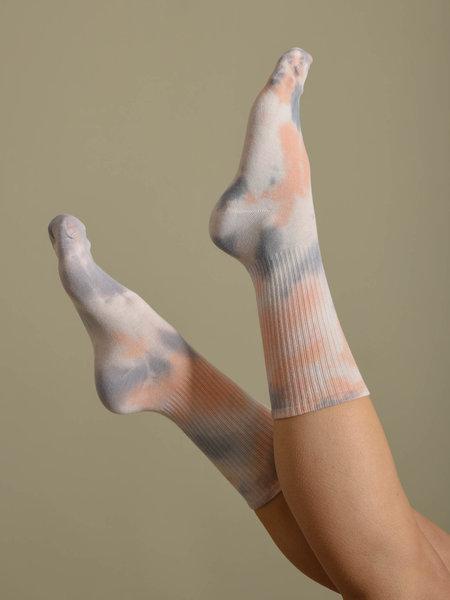 Vegas Tie Dye Sock Pastel