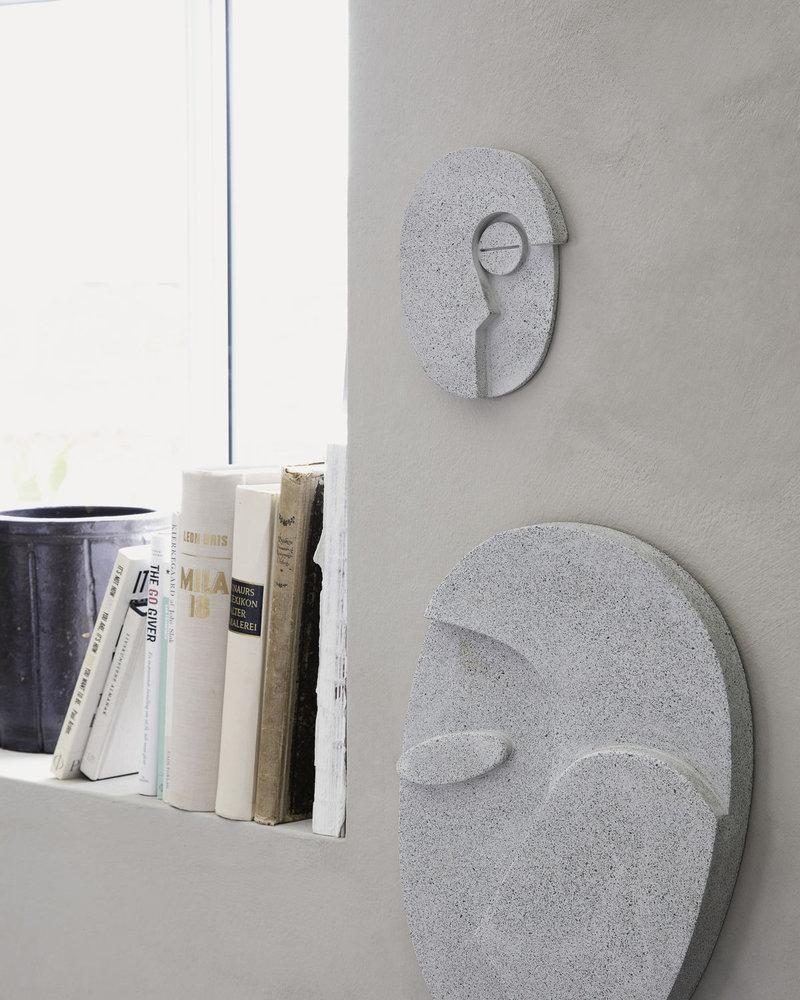 Wall Art Face Grey