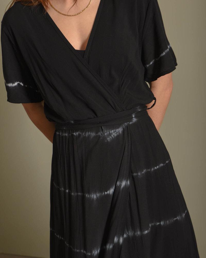 TILTIL Sonia Batik Dress Black