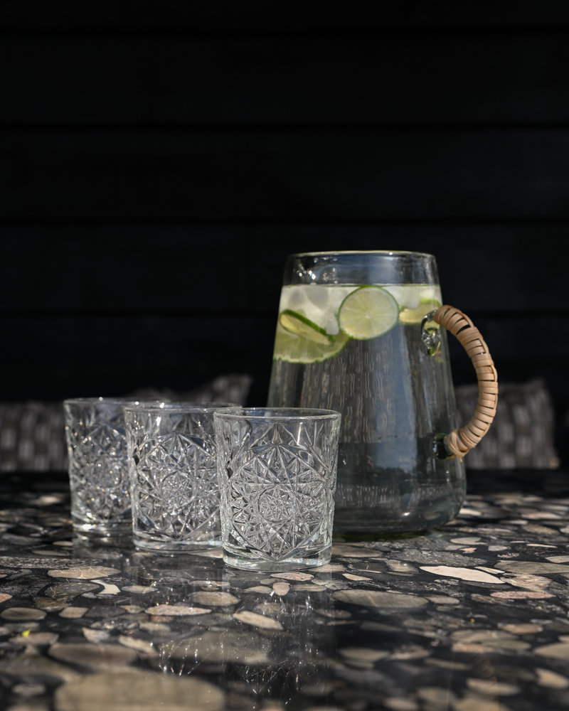 Hobstar Glass Sun