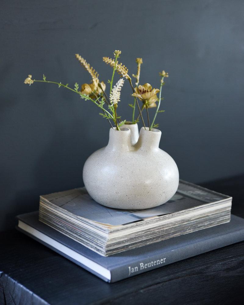 Vase Fine Earthenware Beige