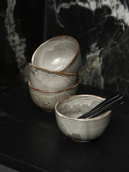 Small Bowl Grey Ceres