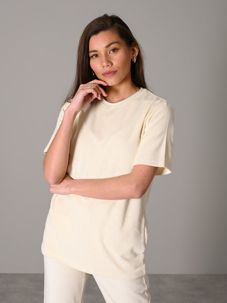 Things I Like Things I Love TILTIL Terry Tee Beige