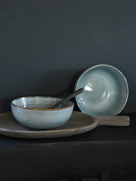 Big Serving Bowl Duna Blue