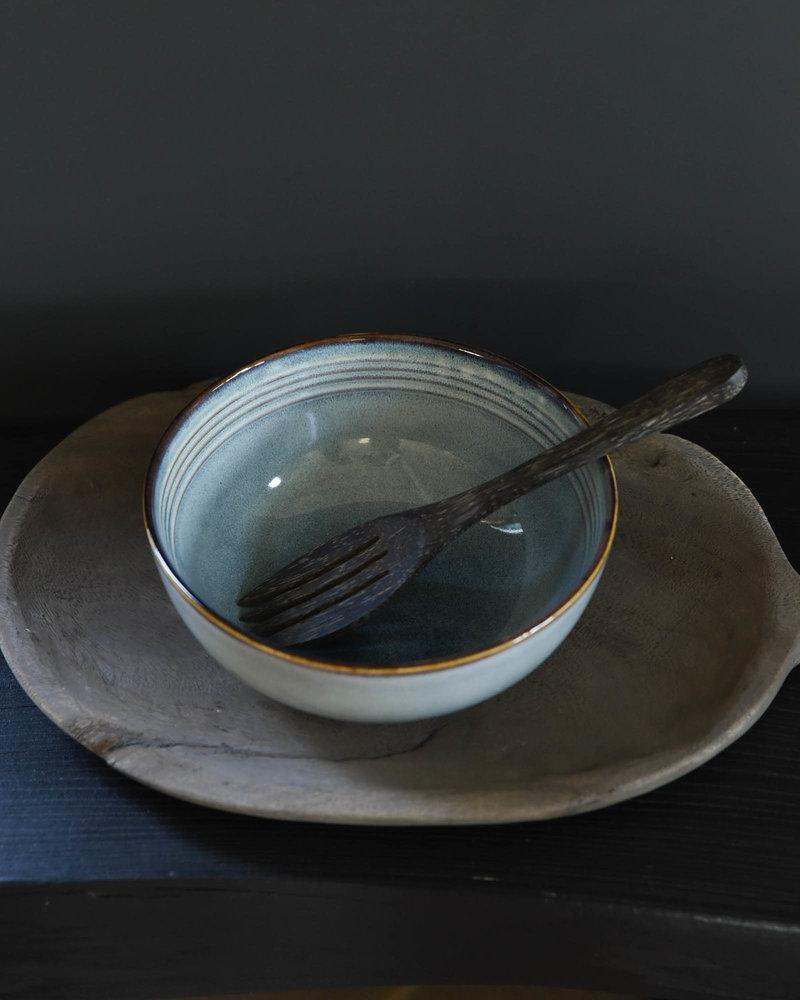 Big Serving Bowl Duna Blue