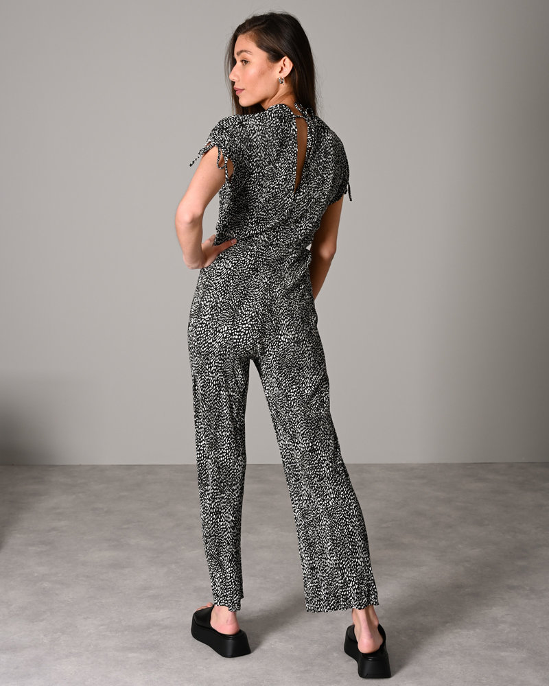 Printed Jumpsuit Black