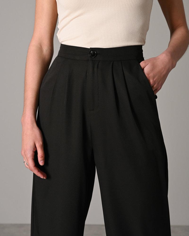 Serena Wide Pant Black