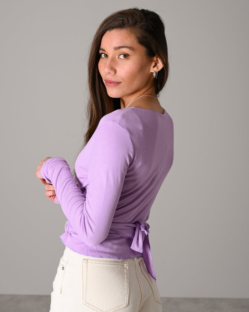 TILTIL Willy Wrap Top Lila