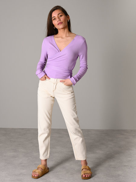 Things I Like Things I Love TILTIL Willy Wrap Top Lila