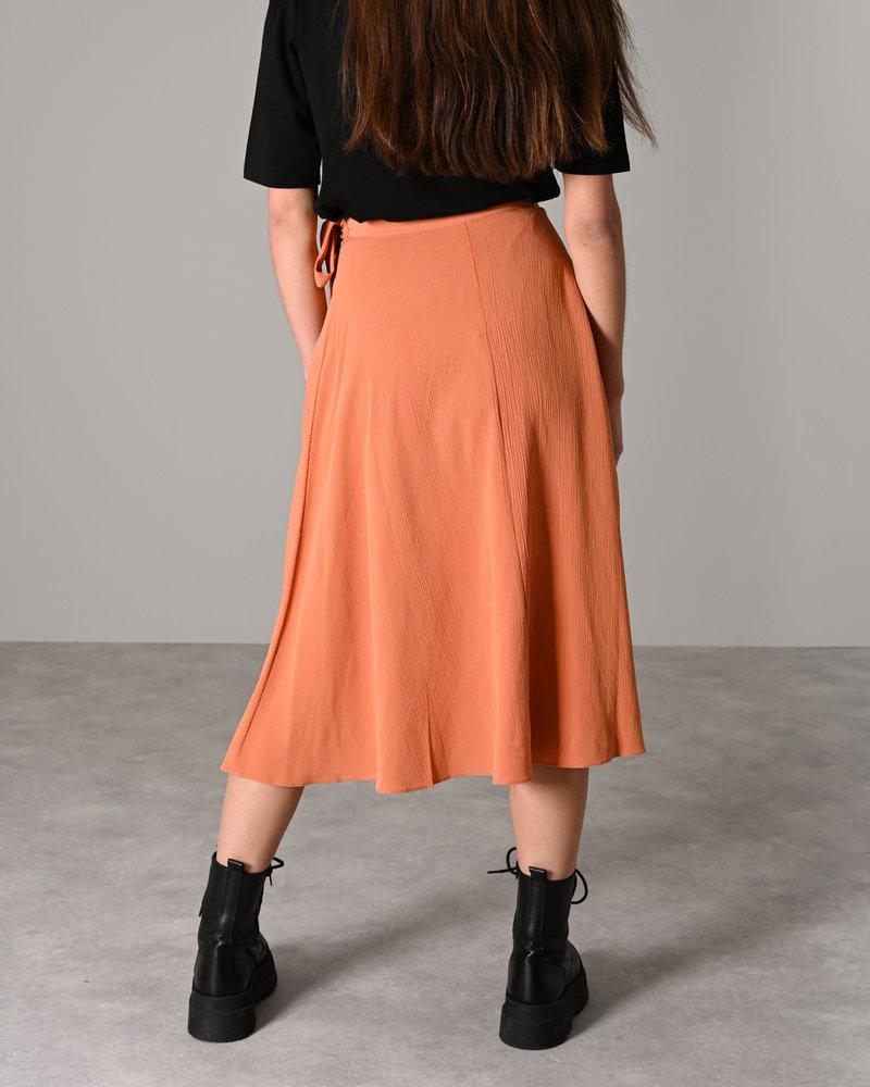 Sunna Midi Wrap Skirt Sunburn