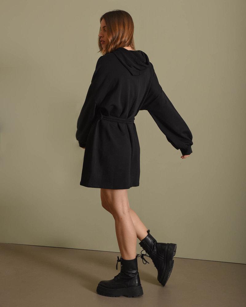 TILTIL Liz Sweater Dress Black