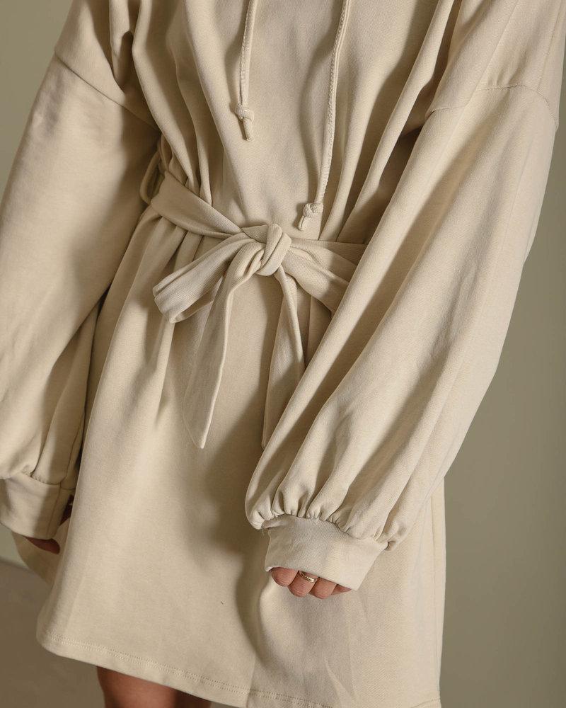 TILTIL Liz Sweater Dress Beige