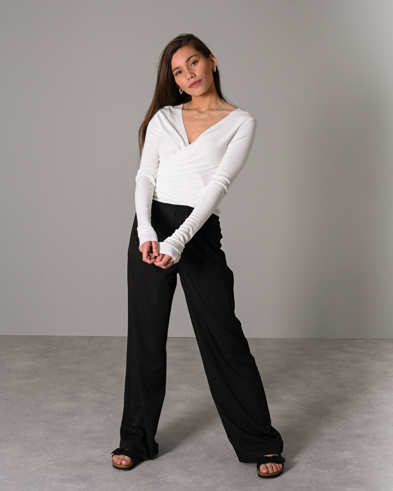 TILTIL Willy Wrap Top White