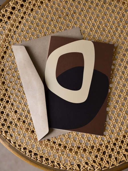 Paper Collective Postcard Solid Shapes 02