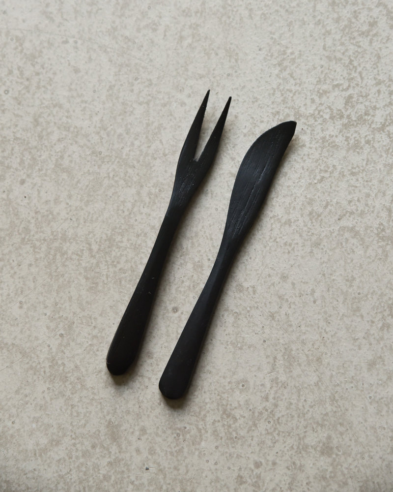 Bamboo Knife Black