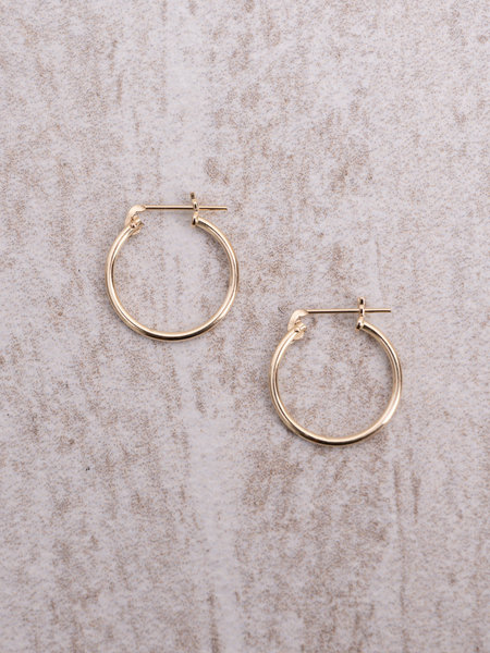 The Two Collectors Goldfilled Lucky Hoop 14mm