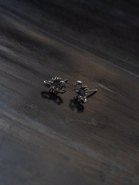 Things I Like Things I Love Scorpio Stud Silver