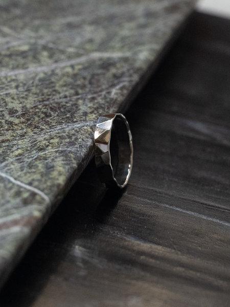 Things I Like Things I Love Knock Ring Silver