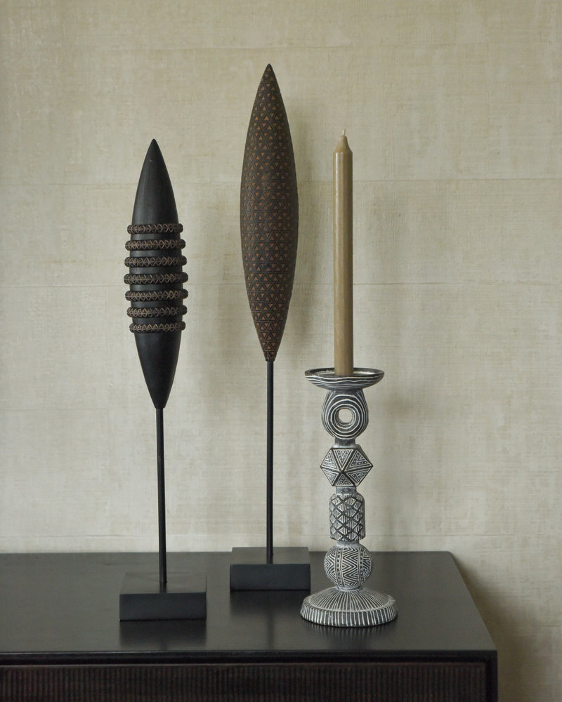 Candle Holder Tribal