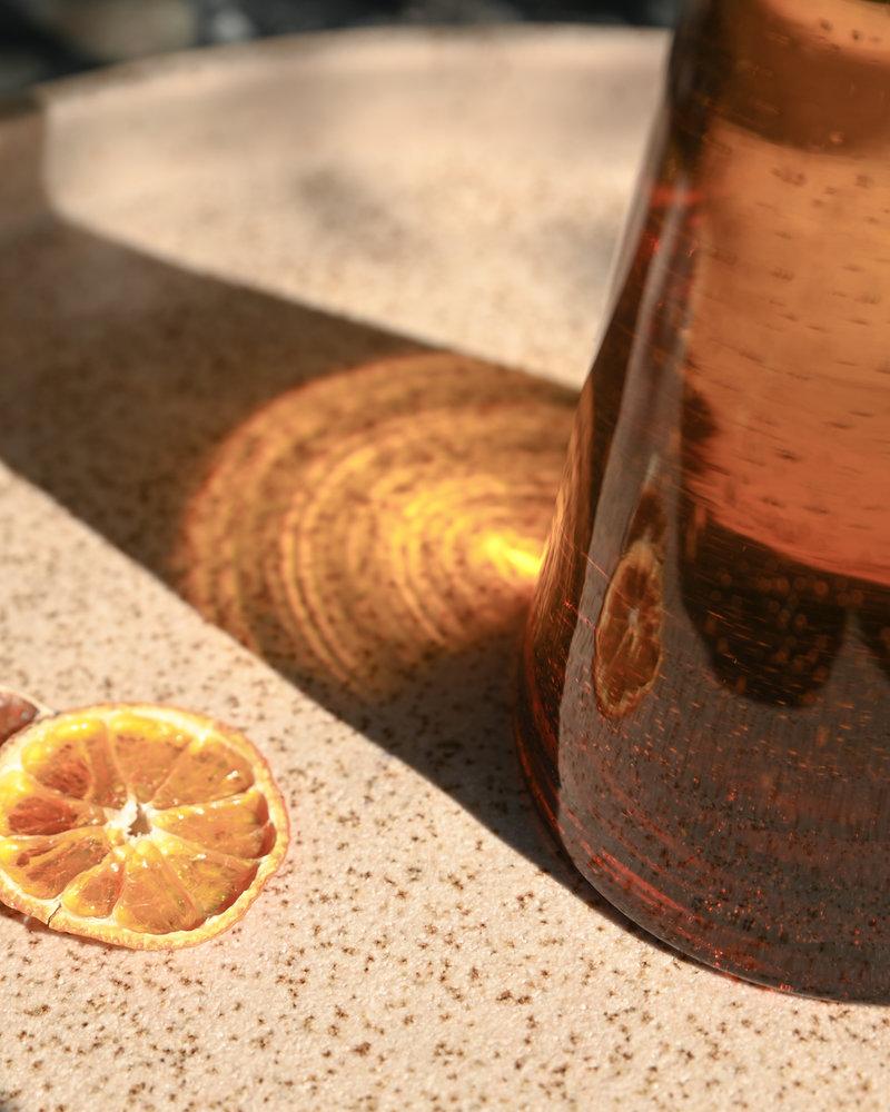 Carafe Glass Amber