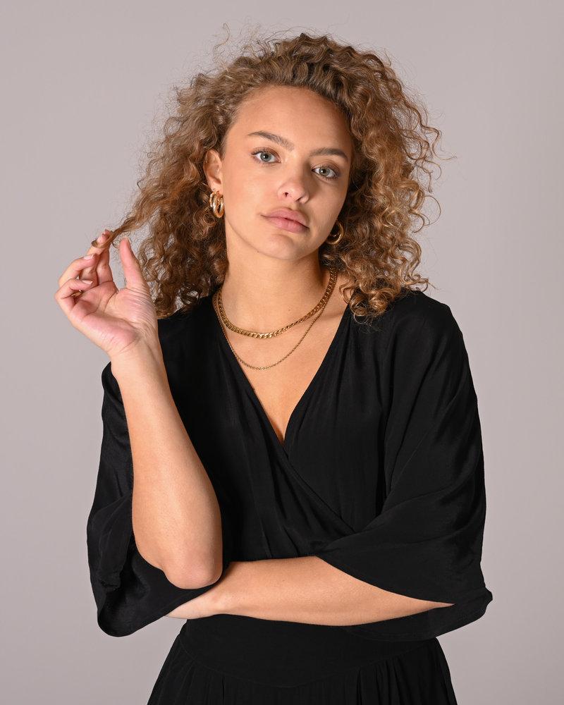 Elivo SS Dress Black