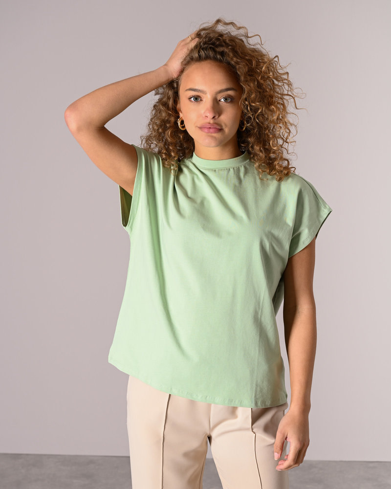 Hailey S/L Top Sprucestone