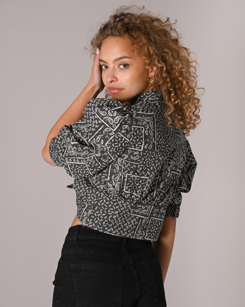 TILTIL Masaya Blouse Grey