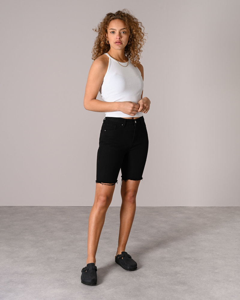 TILTIL Biker Jeans Black