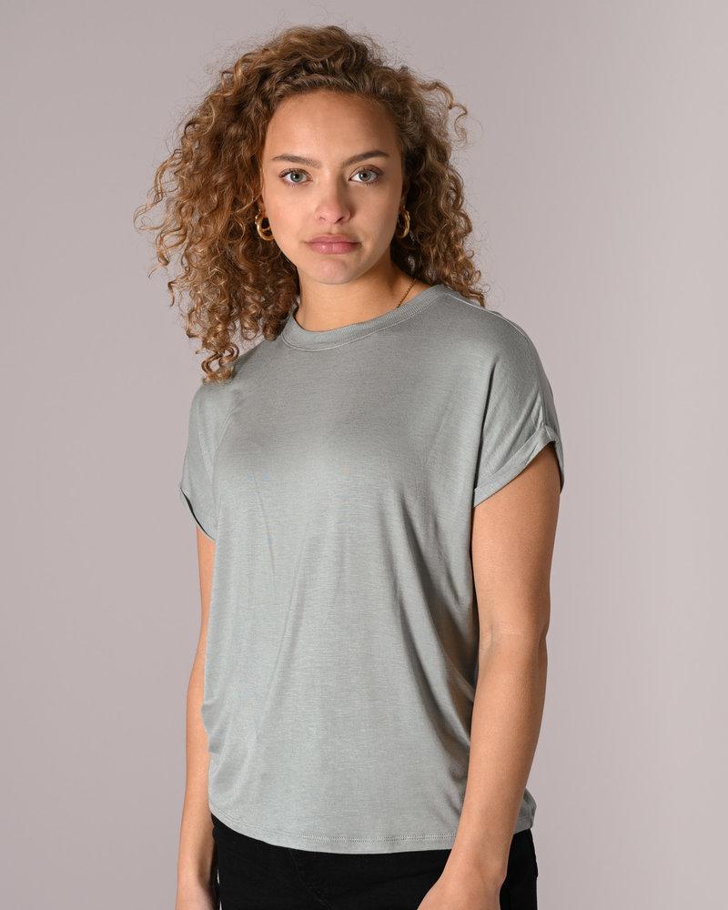 Nola S/S Top Slate Gray