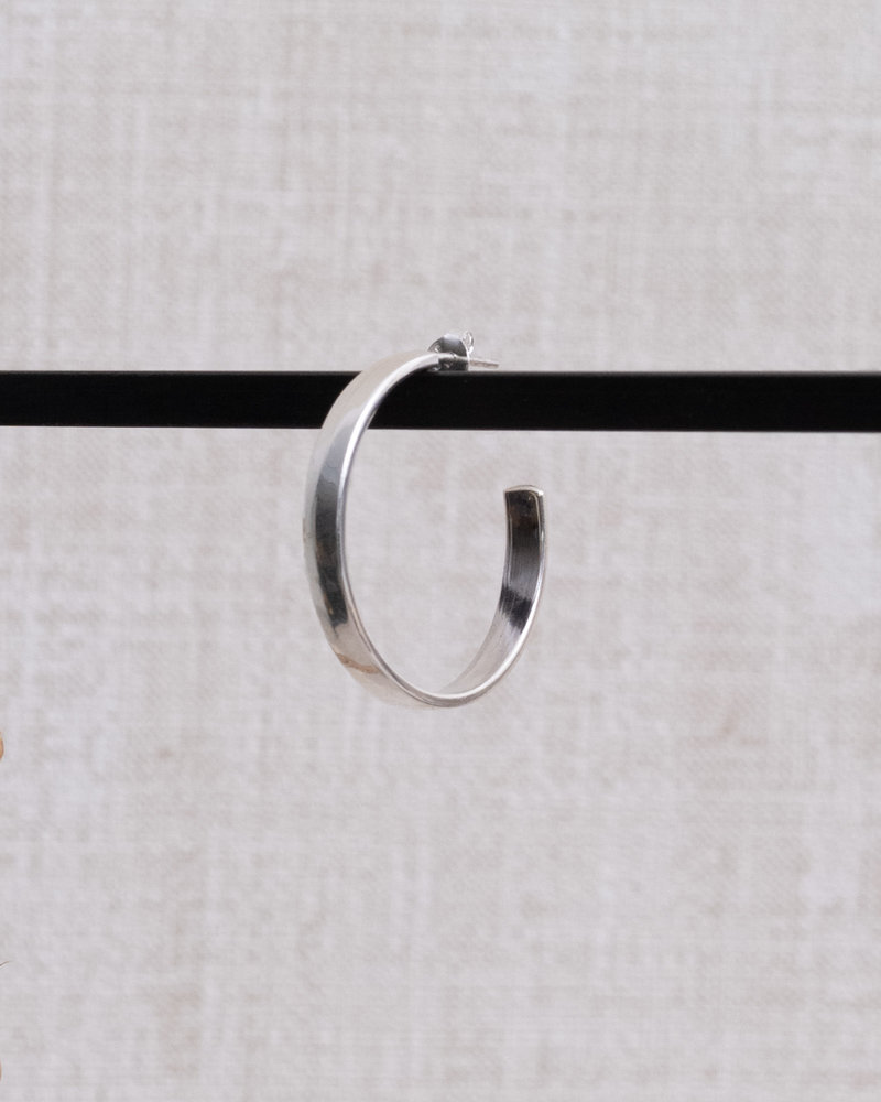 Square Round Thick Hoop