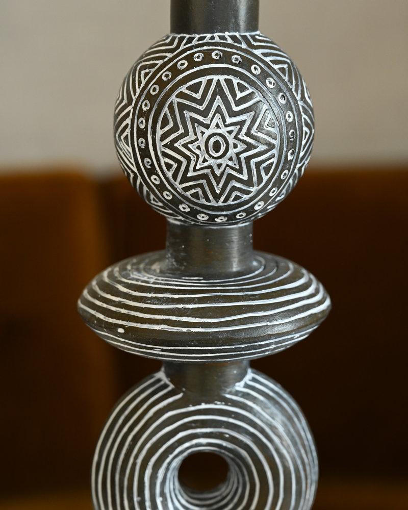 Tribal Ornament Statue