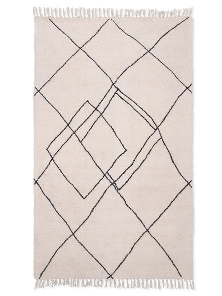HKliving Handwoven Zigzag Rug