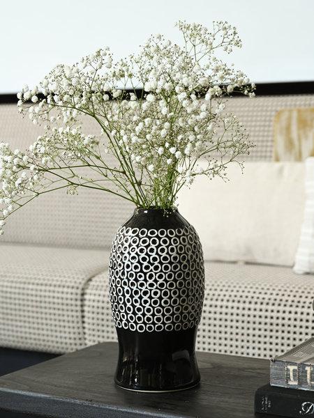 Vase Dolomite Black