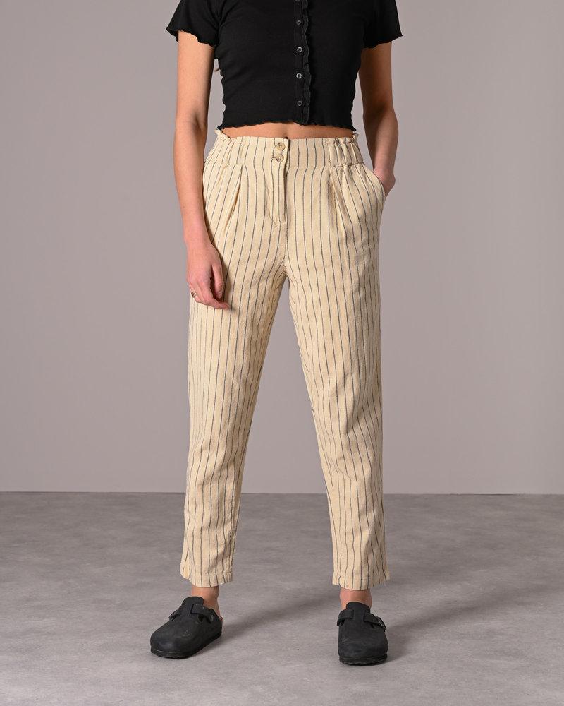 Rupa Ankle Pants Wood Ash Stripe