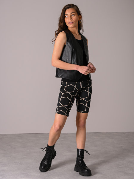 Noisy May Megan Hw Biker Shorts Black