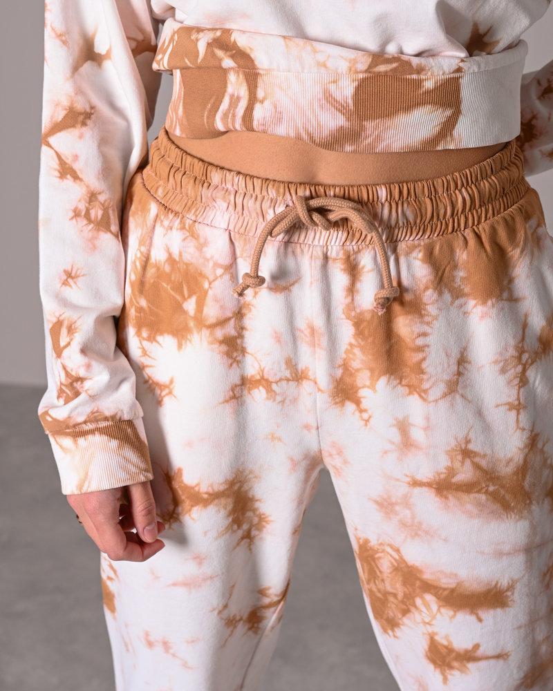Sweat  Pants Praline Tie Dye