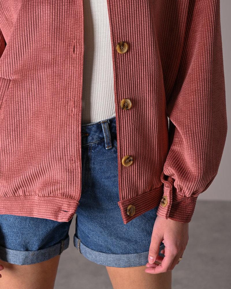 TILTIL Bobby Corduroy Jacket Dusty Pink