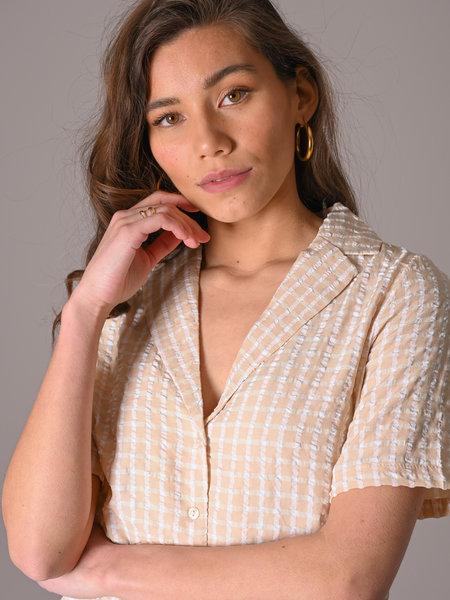 Noisy May Bella Shirt Crystal Gray