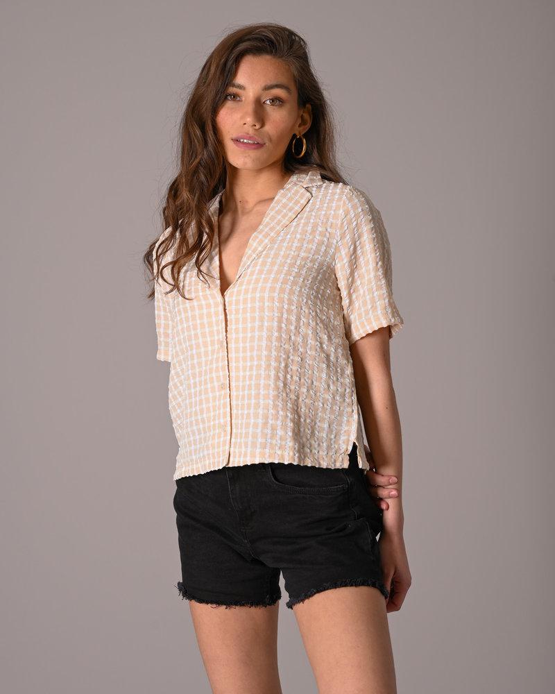 Bella  Shirt Crystal Gray