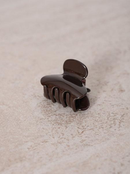 Claw Clip Dark Brown