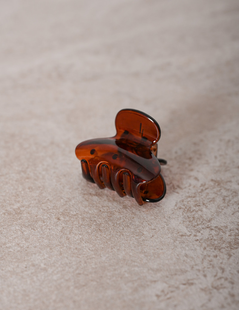 Claw Clip Brown