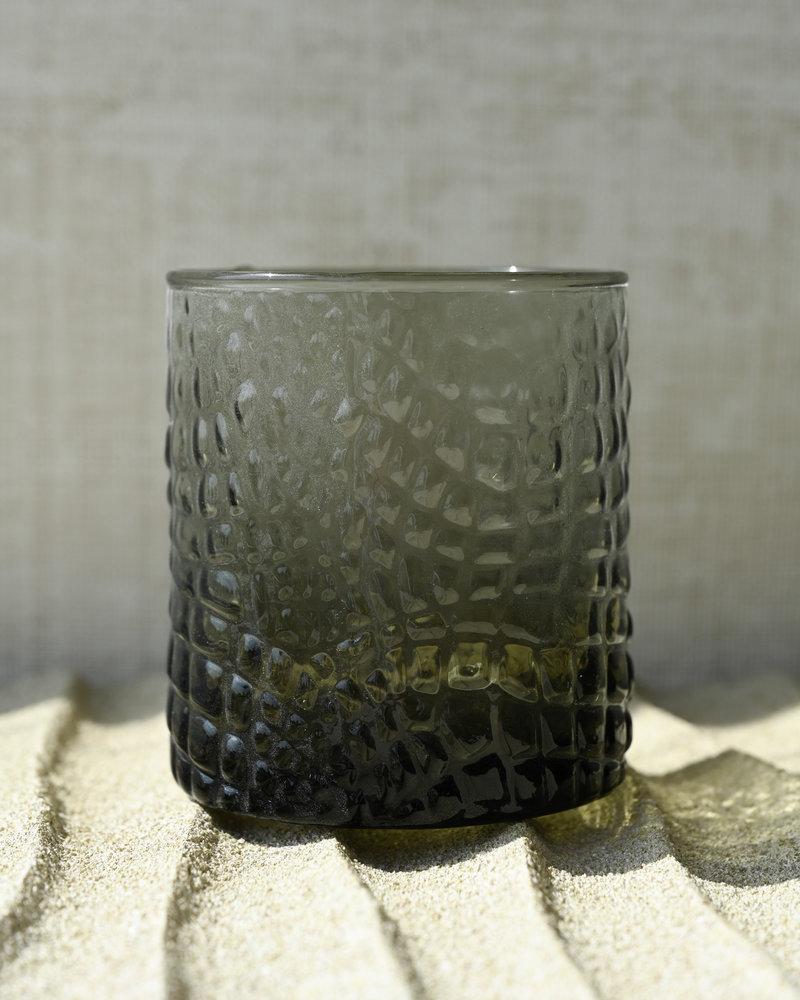Tealight Selima Grey Croco