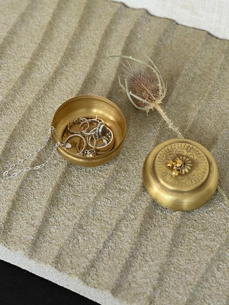 House Doctor Storage Linna Brass